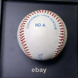 HOF MICKEY MANTLE Autographed Official American League Bobby Brown Baseball