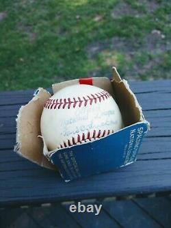 H Spalding President Ford Frick Official National League Baseball Ball No. 1