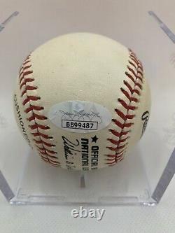 Hank Aaron Signed Official Major League Baseball Atlanta Braves JSA COA