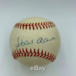 Hank Aaron Signed Official National League Baseball PSA DNA COA