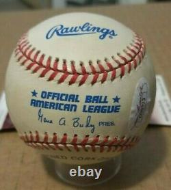 Hof'er Ken Griffey Jr Autograph Official American League Baseball Jsa Coa