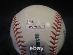Hulk Hogan Autographed Official Major League (Selig) Baseball JSA Cert