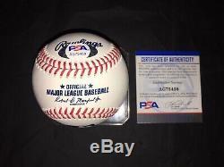 Ichiro Suzuki Signed Official Major League Baseball Seattle Mariners PSA/DNA