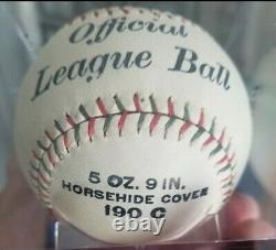 Incredible 1920s Draper & Maynard D&M Official League baseball 190C with BOX