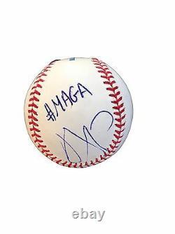 Ivanka Trump (#MAGA) Official Major League Baseball Signed Jsa
