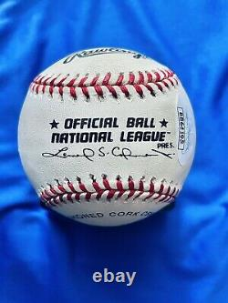 JSA LOATom Seaver HOF 92 New York Mets Signed Official National League Baseball