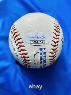JSA LOA Kirby Puckett Minnesota Twins Signed Official American League Baseball