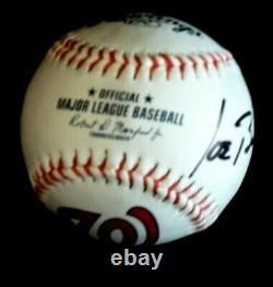 Joe Biden Signed Official Major League Baseball Washington Nationals + Case
