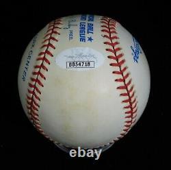 Joe DiMaggio Signed Official American League Baseball JSA Authenticated