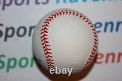 Joe Dimaggio Autographed Official American League (Brown) BaseballFull JSA LOA