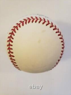 Joe Dimaggio Autographed Rowlings Official American League BaseballFull JSA LOA