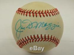 Joe Dimaggio Jsa Signed Official American League Baseball Autographed #x02987