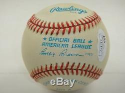 Joe Dimaggio Jsa Signed Official American League Baseball Autographed #z15172