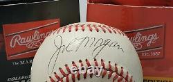Joe Morgan Autographed Official Major League Baseball Psa/dna