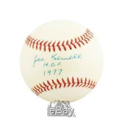Joe Sewell HOF 1977 Autographed Official American League Baseball PSA/DNA COA