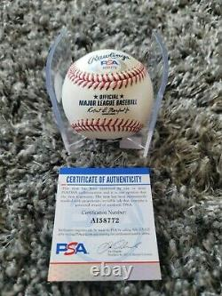 Joey Votto Signed Official Major League Baseball PSA/DNA COA Reds Auto 2010 MVP