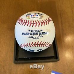 Jose Fernandez Signed Autographed Official Major League Baseball Marlins PSA COA