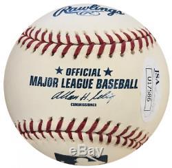 Jose Miguel Cabrera Autographed Official Major League Baseball (JSA)