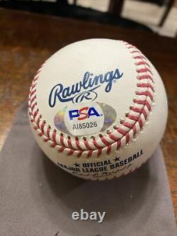 Juan Soto Signed Official Major League Baseball PSA DNA Coa Nationals Auto