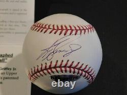 KEN GRIFFEY JR Signed / Autographed Official Major League Baseball UDA COA