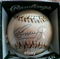 Ken Griffey Jr Autographed Official Mlb League Baseball 1994 All Star Game