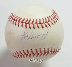 Ken Griffey Jr Signed Official American League Baseball PSA/DNA Rookie Auto