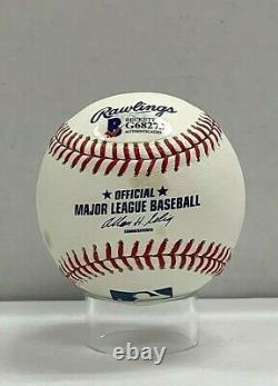 Ken Griffey Jr Signed Official Major League Baseball Beckett BAS G68273 Auto HOF