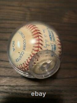 Ken Griffey Jr. Vintage Signed Official American League Baseball HOF Game Used