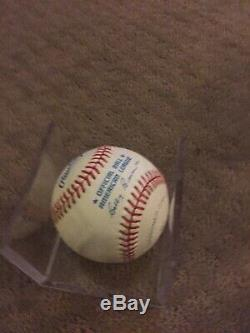 Ken Griffey Jr and Sr Signed Autographed Official American League Baseball
