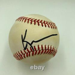 Kevin Costner Signed Autographed Official National League Baseball