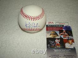 Kirk Gibson Signed Official Major League Baseball JSA #II14345 Tigers Dodgers