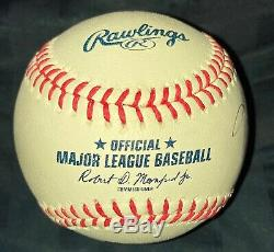 Kobe Bryant signed and inscribed 24 Official Major League Baseball