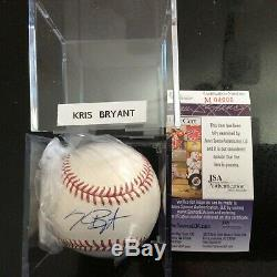 Kris Bryant Signed Official Major League Baseball Ball Jsa Certified