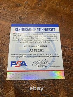 Kris Bryant Signed Official Major League Baseball PSA DNA Coa Giants Autographed