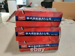 LOT OF 35 Rawlings FSOLB1 Official League Baseballs