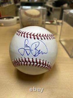Larry Bird Signed Official Major League Baseball COA Boston Celtics