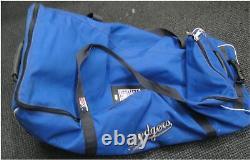 Los Angeles Dodgers Official Major League Game Used Helmets / Bat Travel Bag
