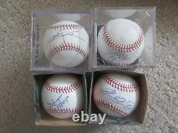 Lot of (35) Signed Autograph Official Rawlings Major League Baseballs Huge Lot