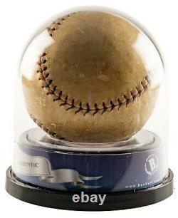 Lou Gehrig Single Signed Official 1927 American League Baseball Beckett COA
