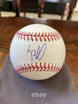 Luis Robert Signed Official Major League Baseball Psa Dna Coa White Sox Auto