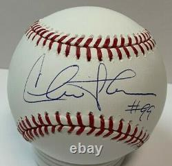 Major League Movie CHARLIE SHEEN #99 Signed Official MLB Baseball AUTO BCA