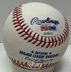 Major League Movie CHARLIE SHEEN #99 Signed Official MLB Baseball AUTO PSA