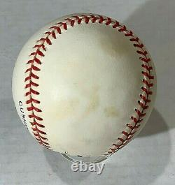 Mark McGwire Signed Official National League Baseball withInscription PSA/DNA