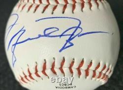 Michael Jordan Hand-Signed Rawlings'Official League' BASEBALL withLOA