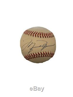 Michael Jordan Signed Official Major League Baseball UDA Upper Deck