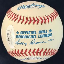 Mickey Mantle Autographed Official American League Baseball (JSA)