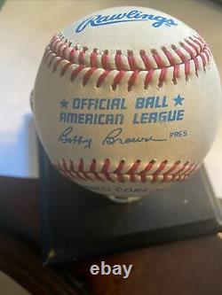 Mickey Mantle Signed Official American League Baseball