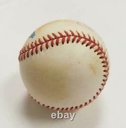 Mickey Mantle Signed Official Bobby Brown American League Baseball UDA COA