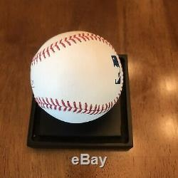 Mike Trout Signed Autographed Official Major League Baseball Angels