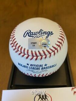 Mike Trout Signed Autographed Official Major League Baseball MLB COA Angels